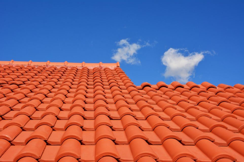 Tile Clay Roof for Installing Solar Panels